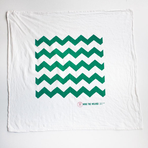 Tea towel / Apron / Furoshiki (Chevron)