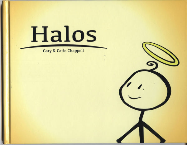 Halos is a book about choosing peace for kids and wise adults