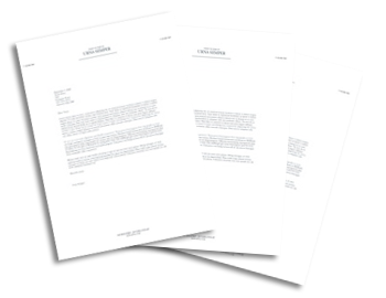the front matter of a business report typically contains c#