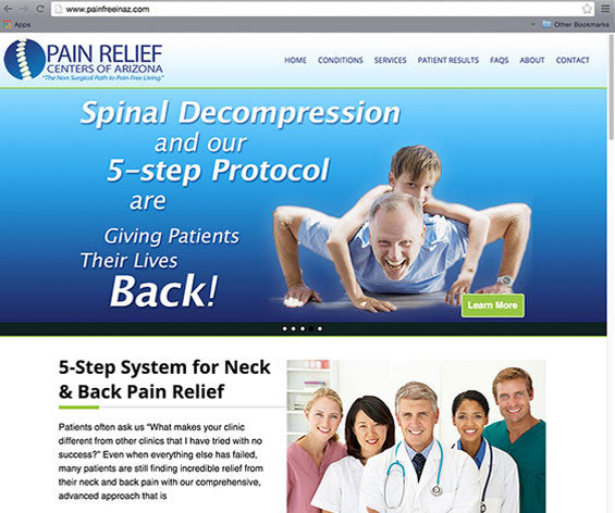 Spinal Decompression Website