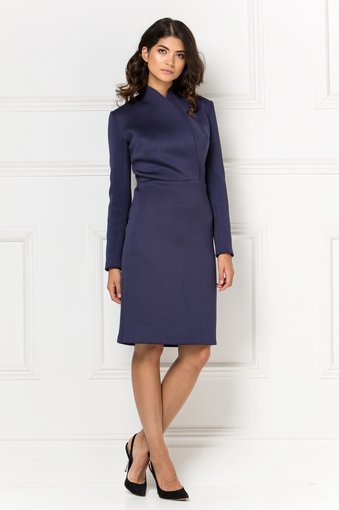 Diana Dress - Indigo