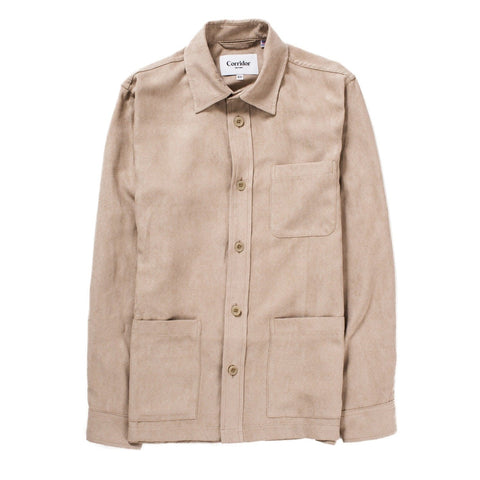 Natural Vege Suede Overshirt