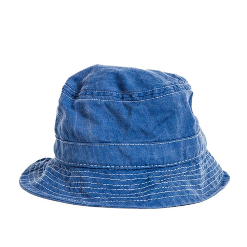 Bucket Hat - Broken Twill - Blue