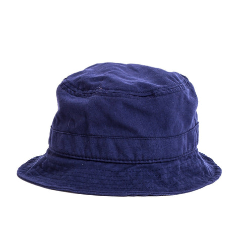 Bucket Hat - Navy Canvas