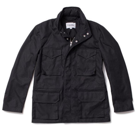 Waxed Cotton M65 - Black (10oz)