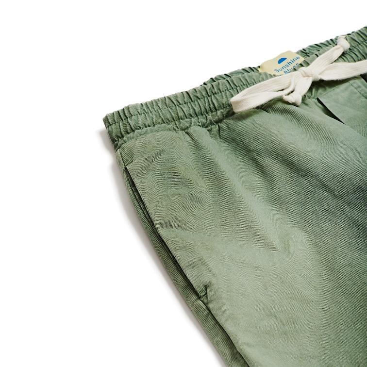 SSB Summer Olive Drawstring Pants