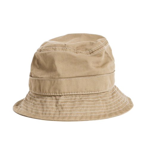 Khaki Twill Bucket Hat