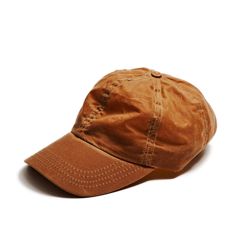 Tan Lightweight Waxed Cap