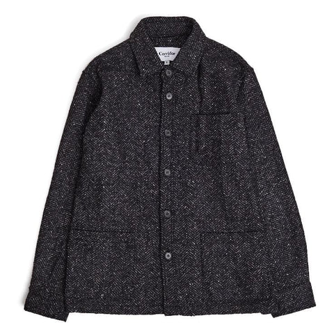 Italian Herringbone Wool Jacket