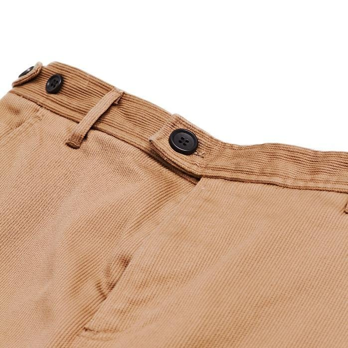 Khaki Rugged Twill Chinos