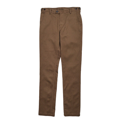 Olive Rugged Twill Chinos