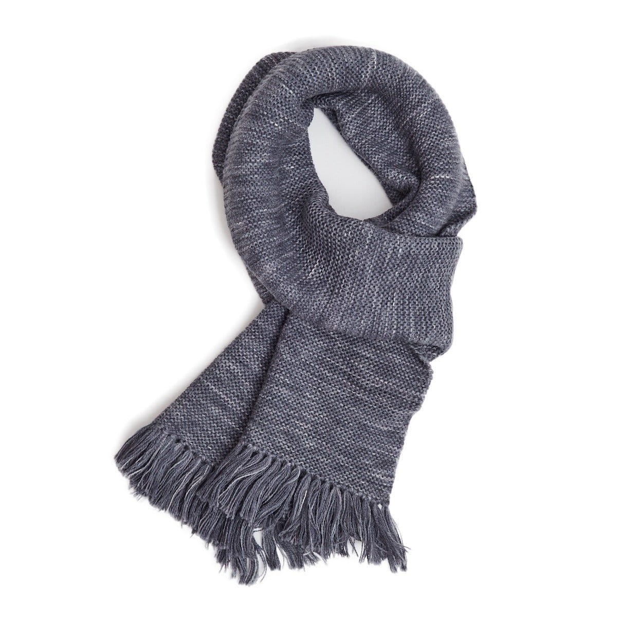 Spacedye Alpaca Scarf - Grey