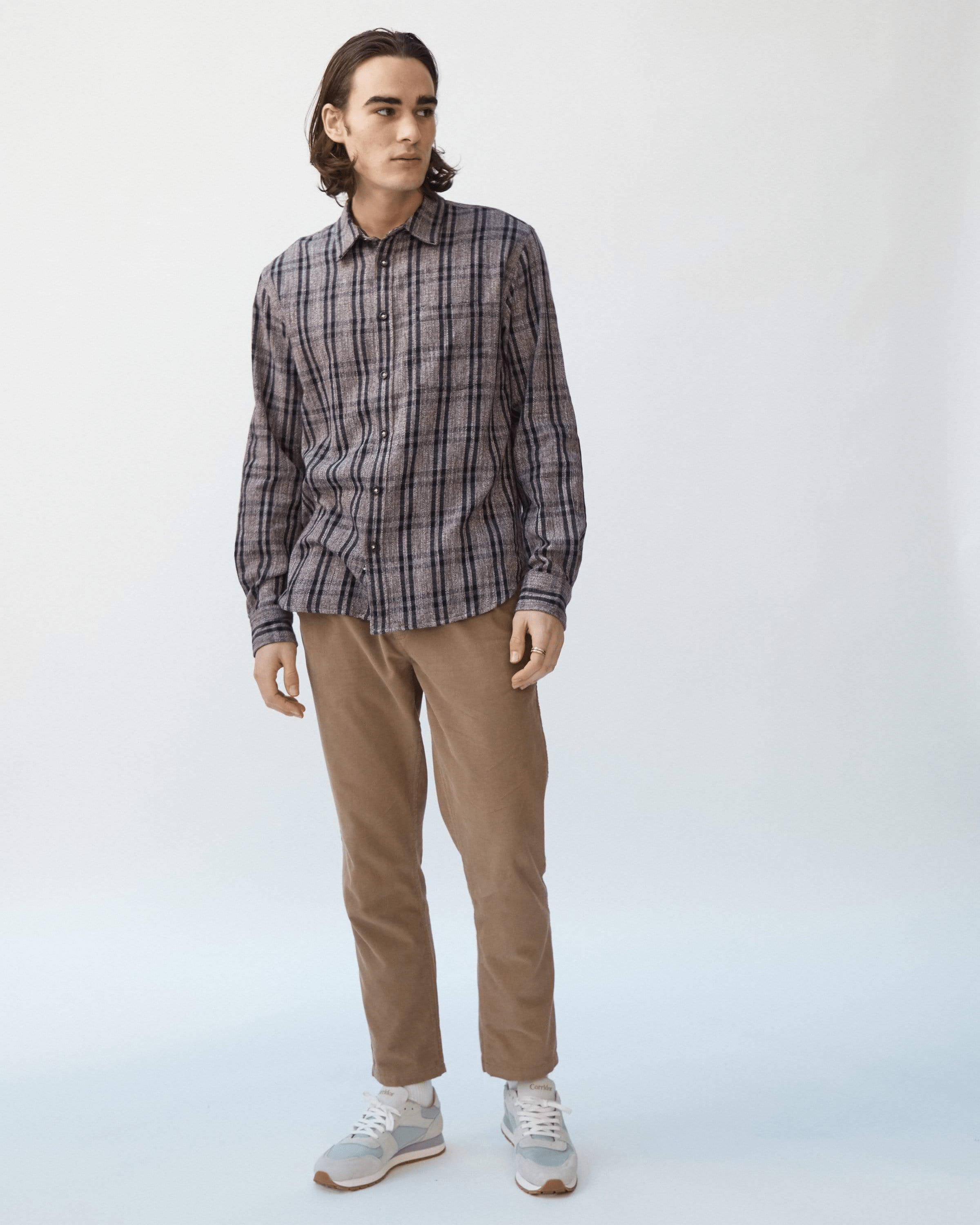 Grindle Lightweight Flannel Check