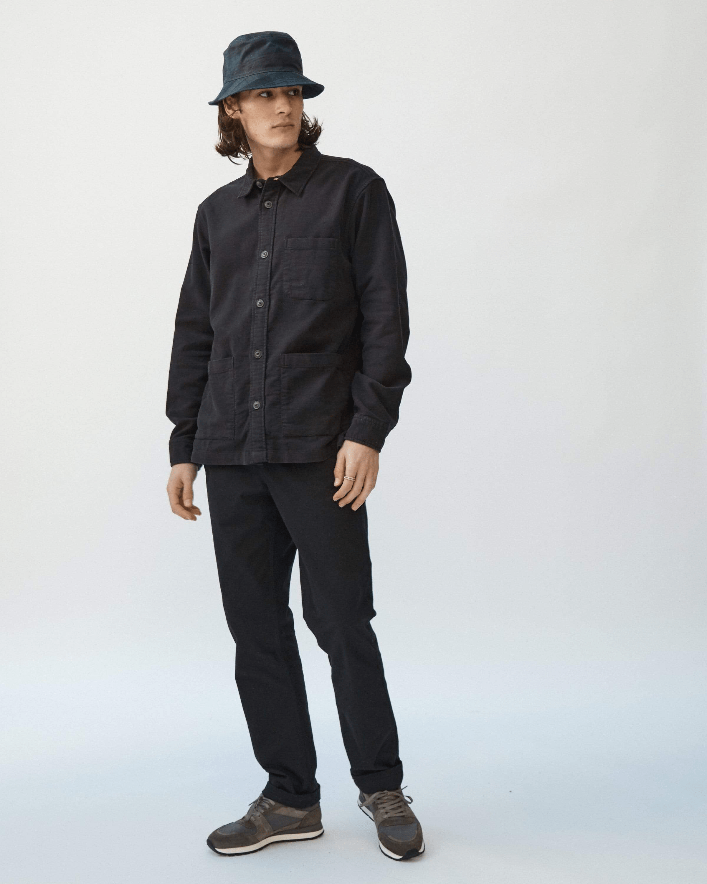 Black Moleskin Trousers