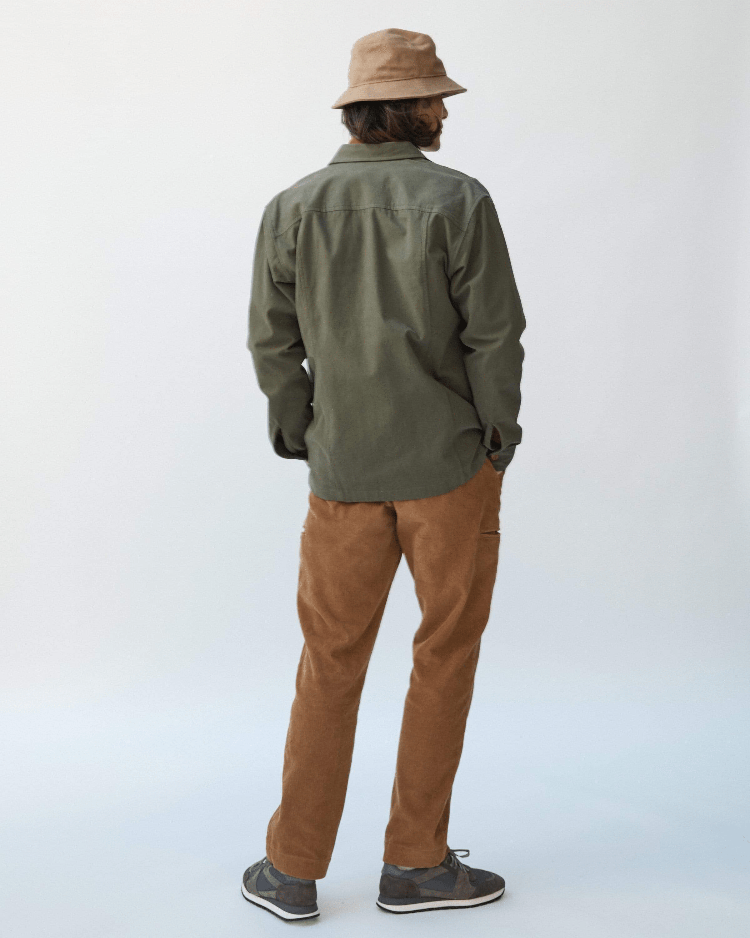 12oz Duck Dark Khaki Bucket Hat