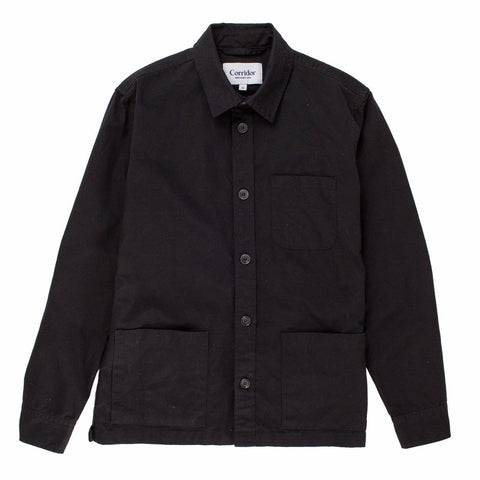 Overdye Black Overshirt