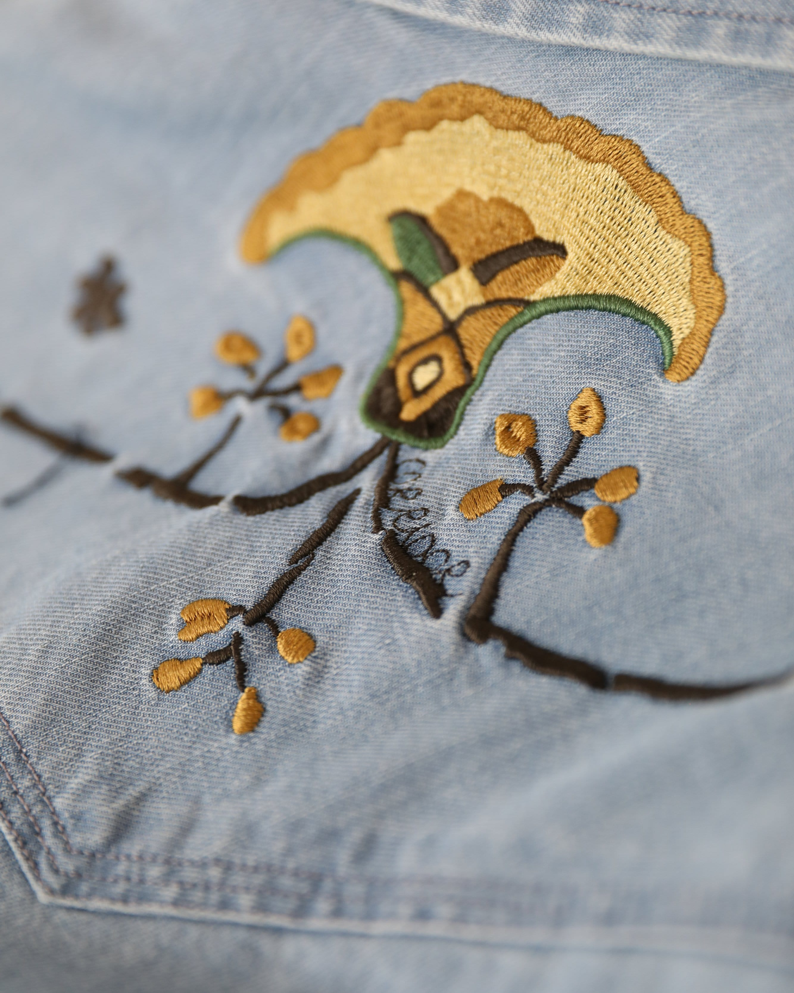Embroidered Western - Archival