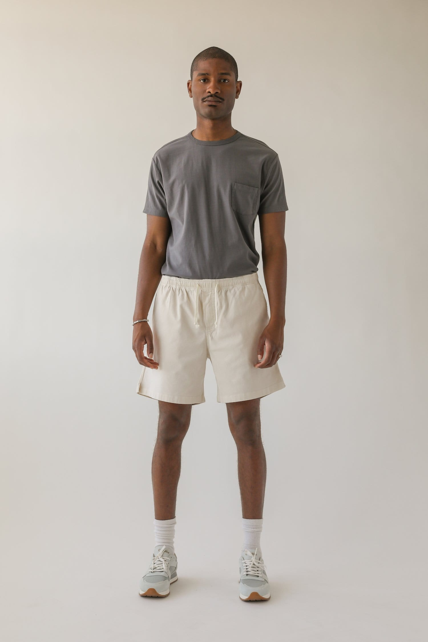 SSB Natural Draw String Shorts
