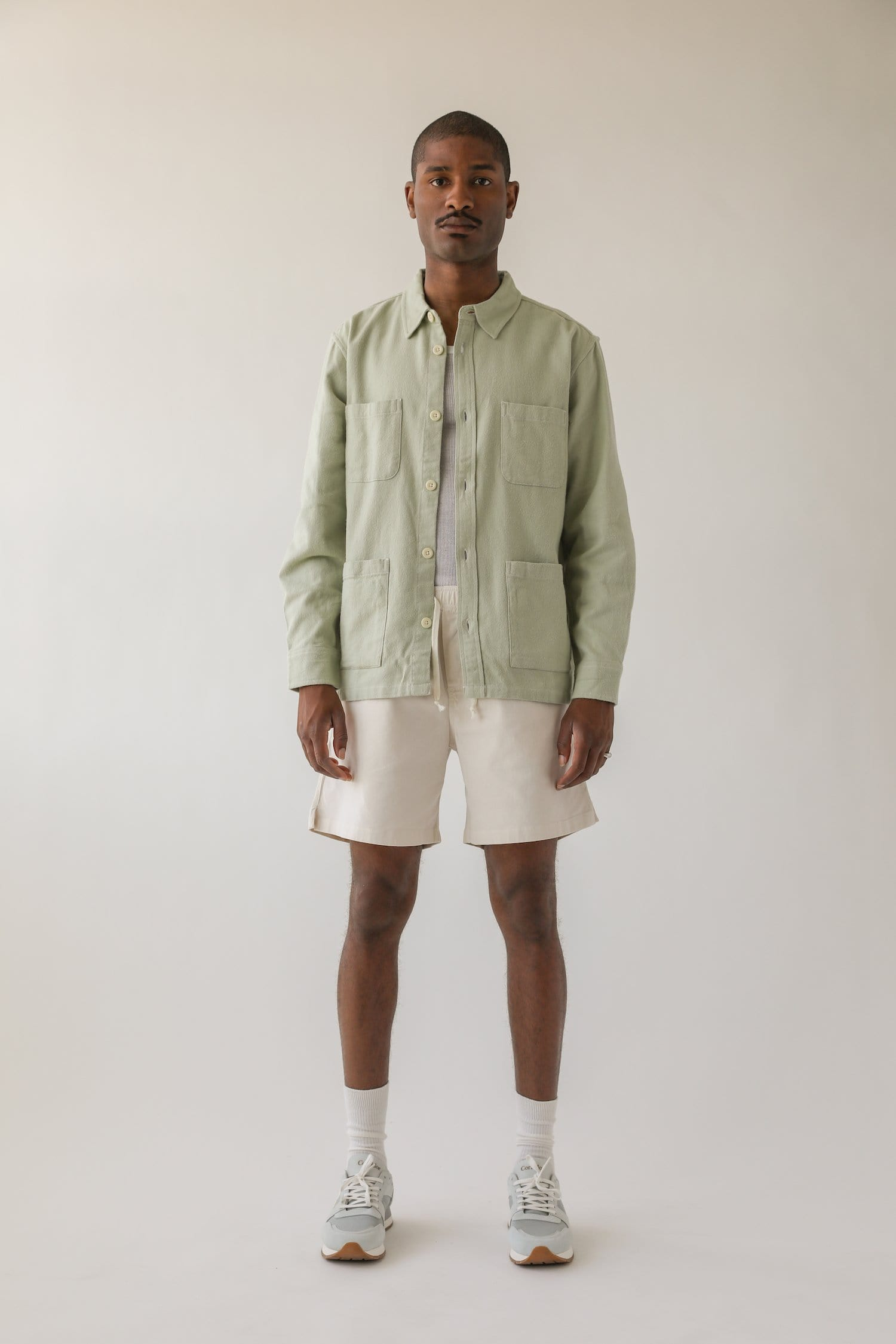 SSB Lint Olive Beach Blanket Jacket