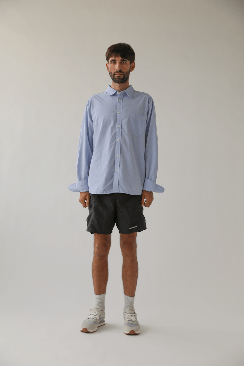 Summer Chambray Blue - LS