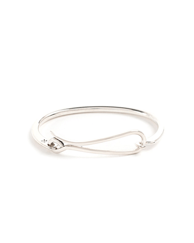 Hook Bracelet - Sterling Silver - Polished