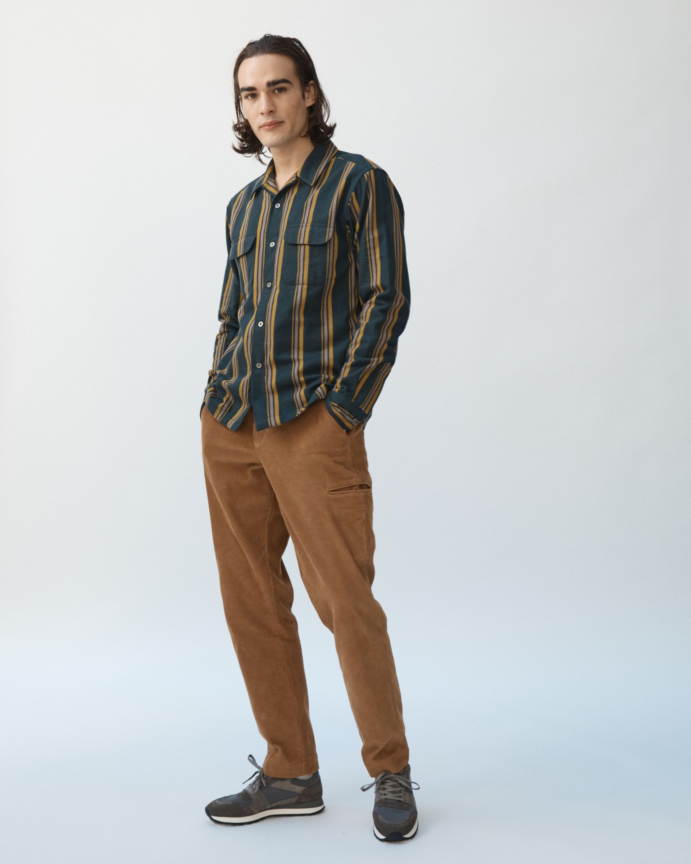 Autumn Brown Welt Cargo
