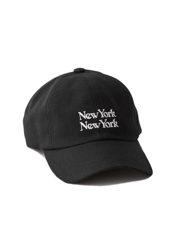 New York New York Cap - Black
