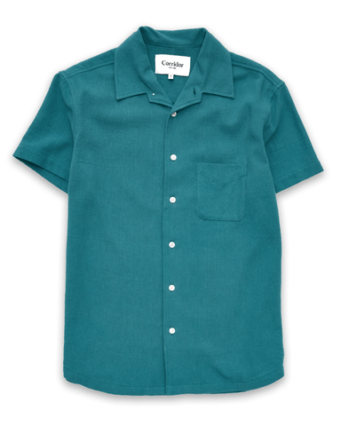 Brittany Blue Button Front Polo