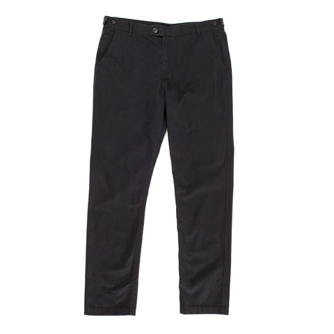 Sanded Black Chino