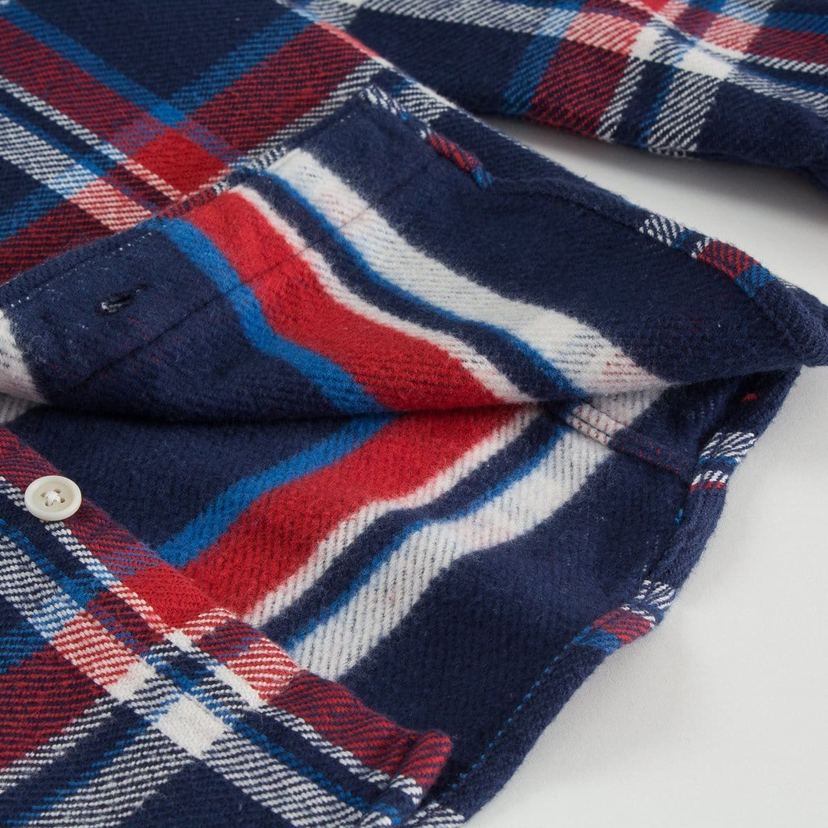 Blanket Plaid Navy
