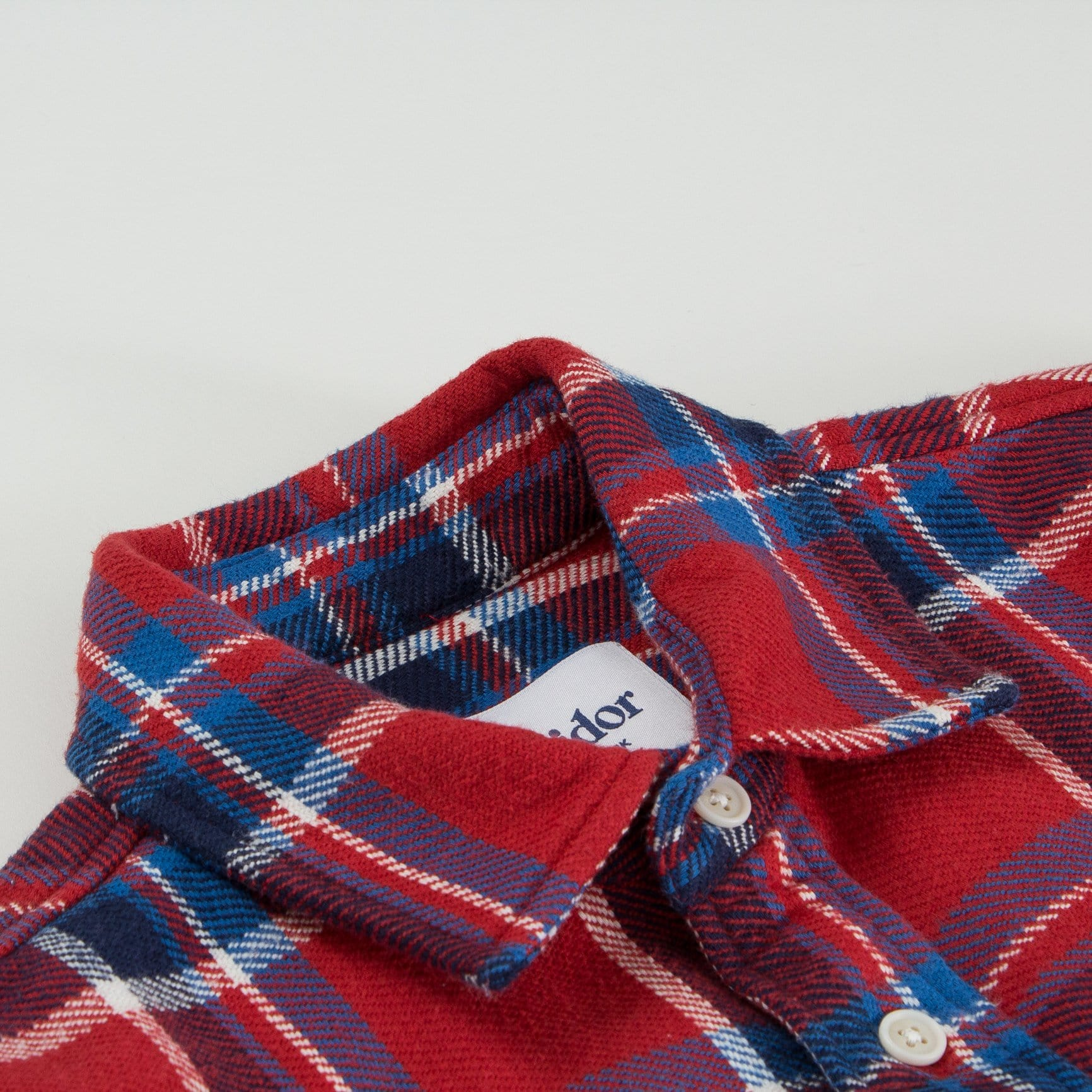 Blanket Plaid Red