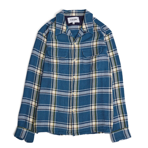 Acid Plaid Check Work Shirt
