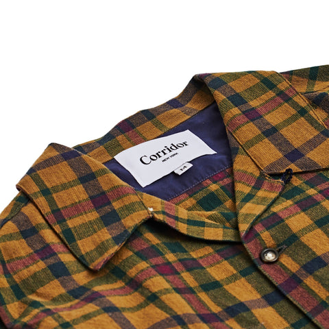 Brown Heritage Plaid Work Shirt