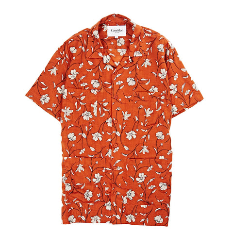 Clay Tencel Floral SS Summer Shirt