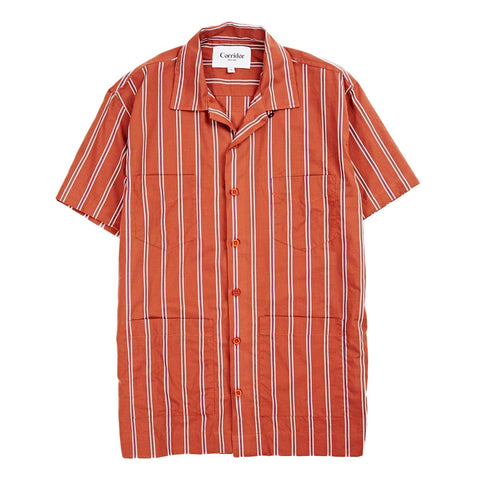 Silk Stripe Summer Shirt