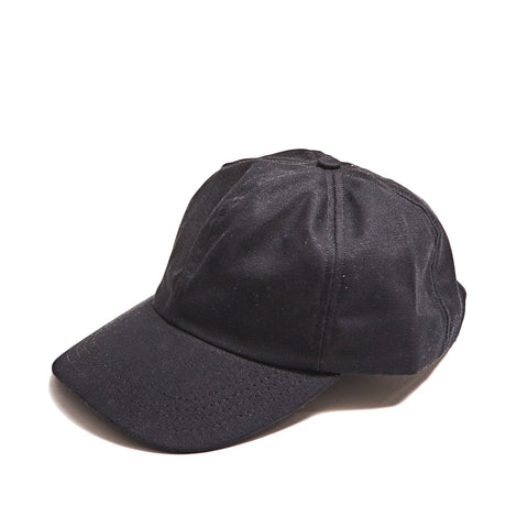 Black Washed Duck Canvas Cap