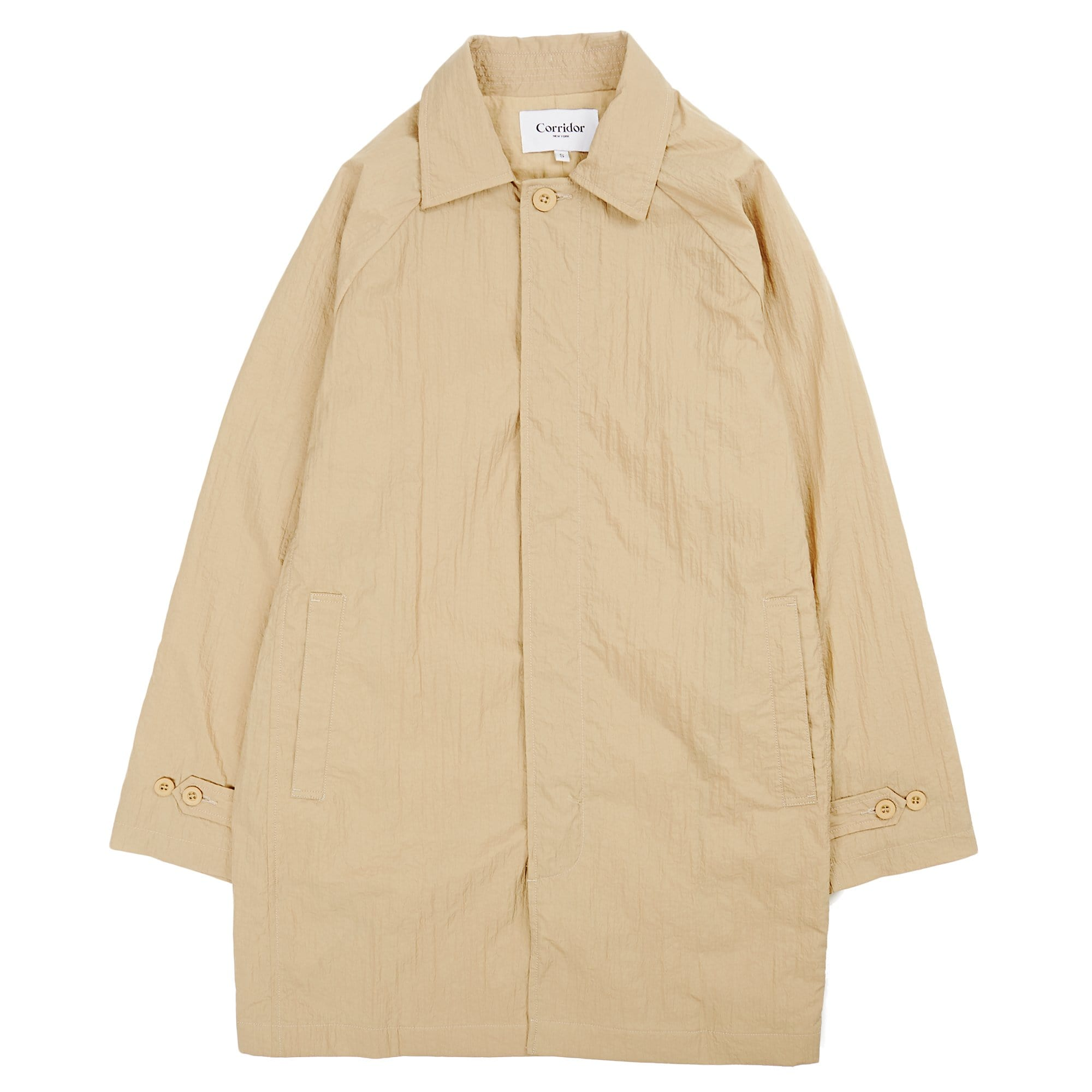 Water Resist City Mac - Khaki