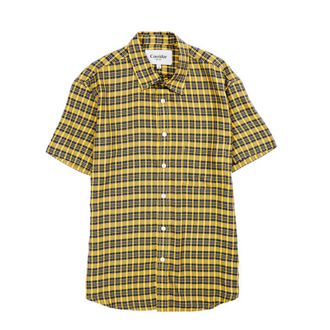 BBQ Yellow Plaid SS