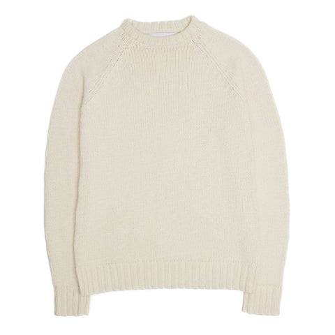Ivory Cotton Crewneck