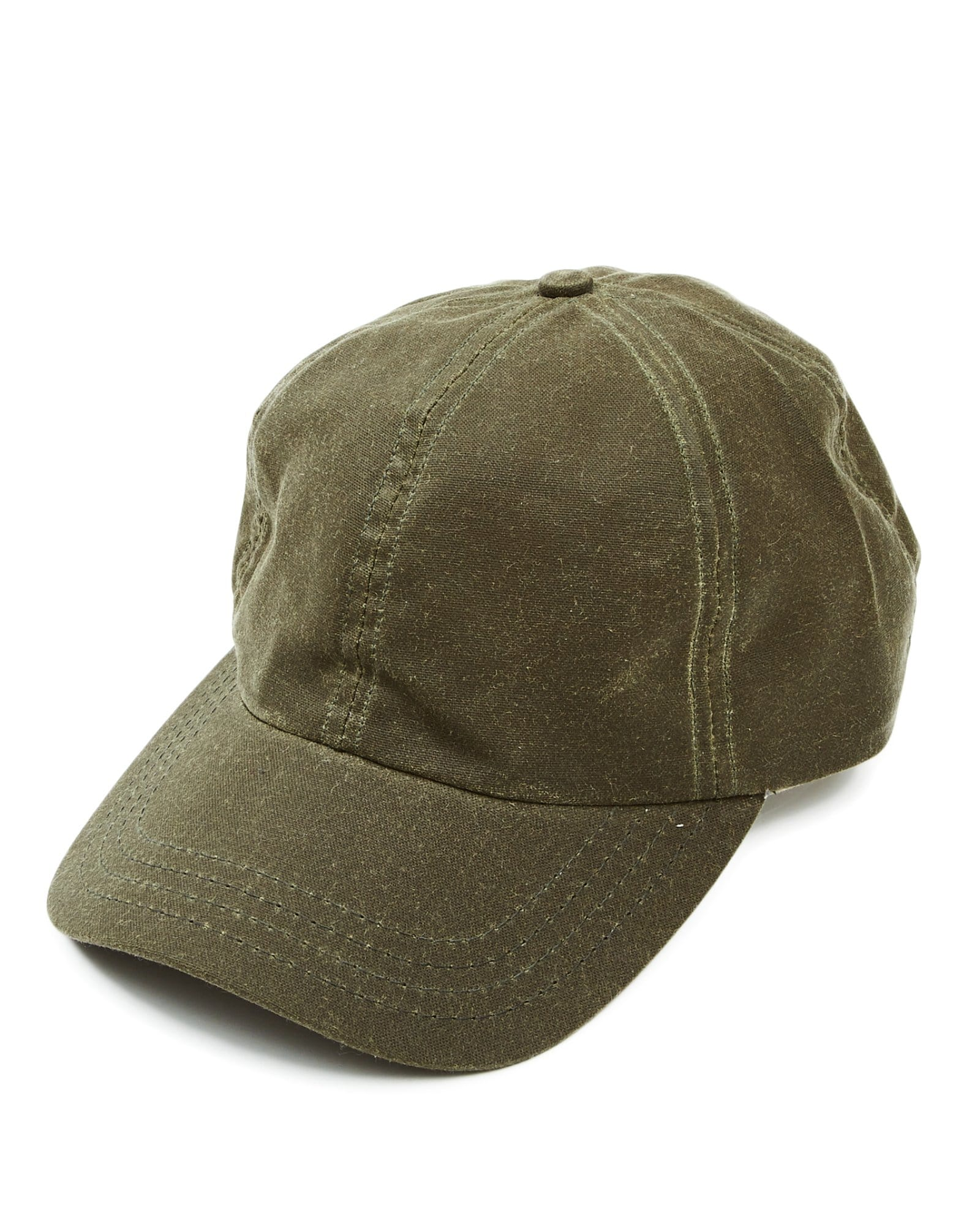 Olive Waxed Waterproof Cap