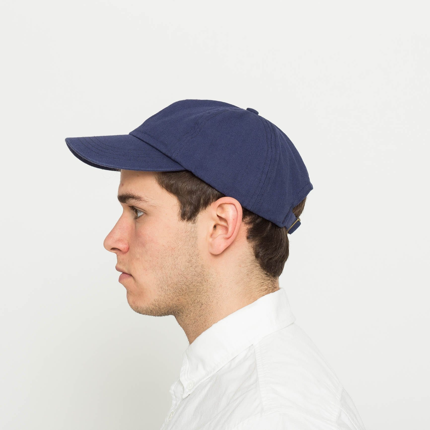 Washed Duck Canvas Cap - Navy
