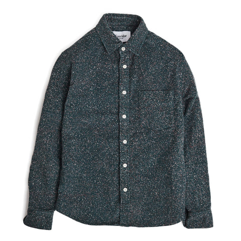 Christmas Light Moleskin Flannel LS