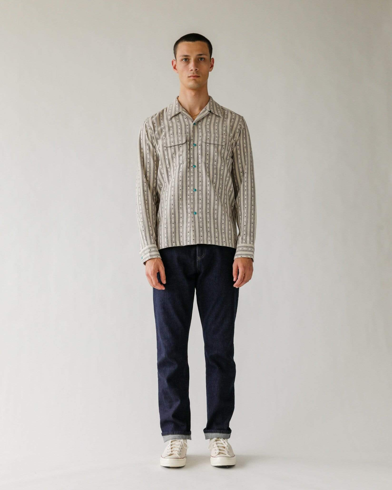 Palo Santo Stripe Work Shirt