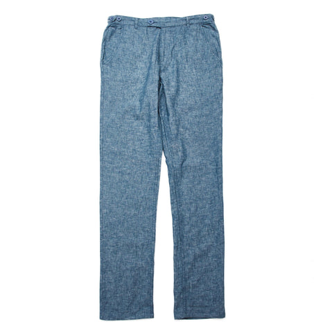 Summer Linen Chambray Trousers
