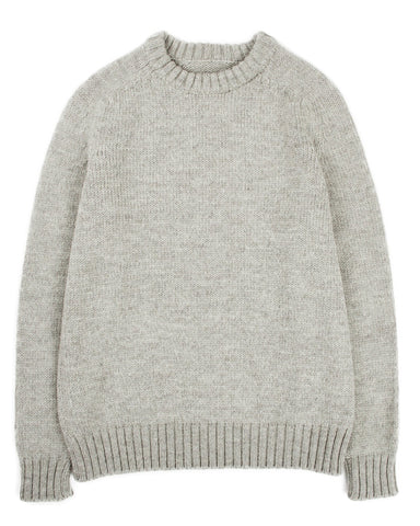 Organic Highland Wool Crewneck - Harbor Grey