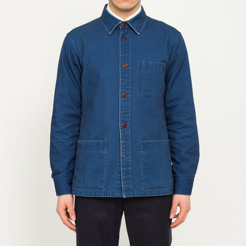 Duck Dyed Indigo Overshirt