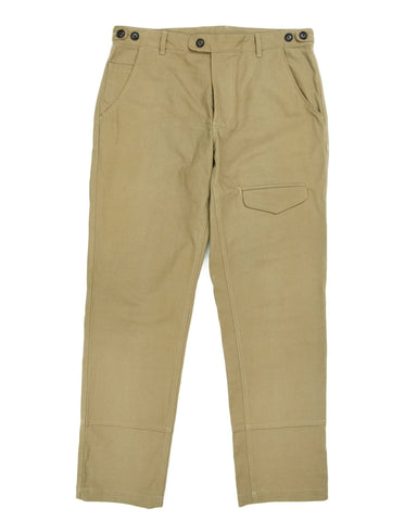 Heavy Canvas Khaki Flap Pants