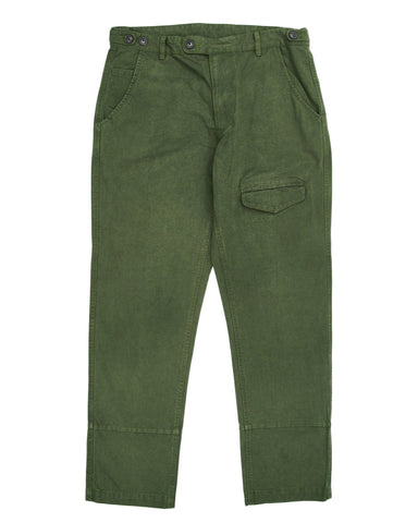Heavy Canvas Olive Flap Pants