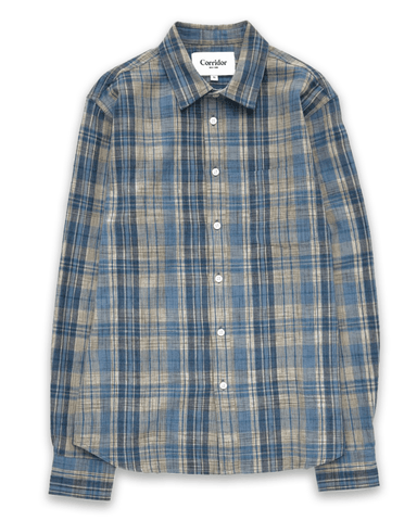 Hemp Plaid LS