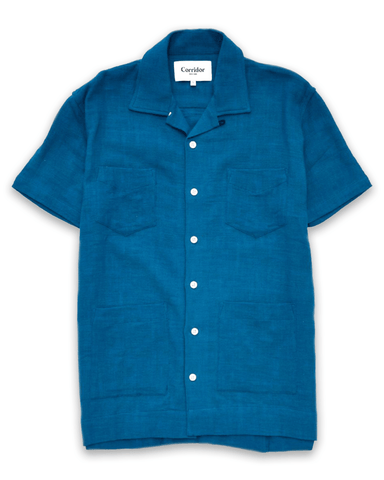 Indigo Super Slub Summer Shirt